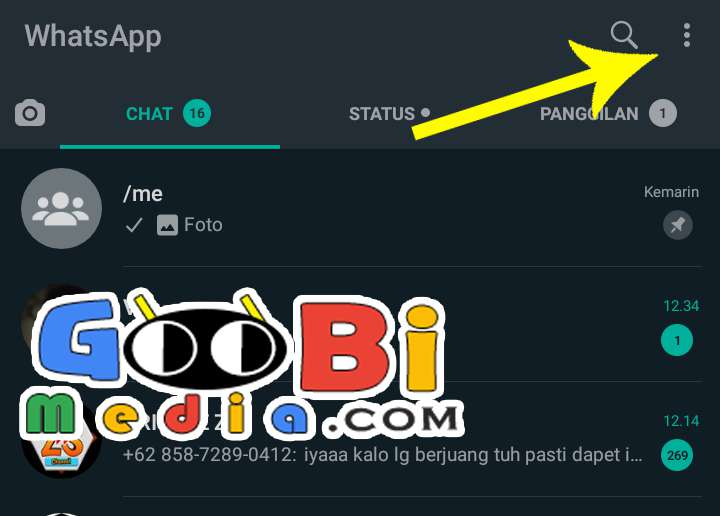 Cara Buka WhatsApp di Laptop Melalui Web Browser 2 GooBiMedia